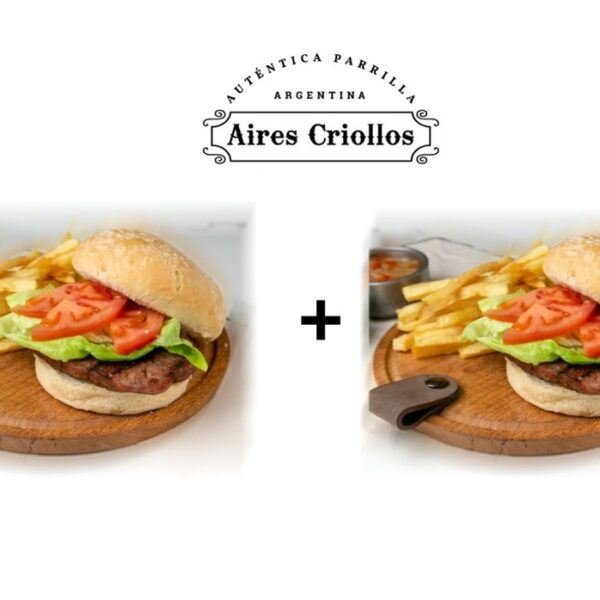 Promo 2 Sandwich Chorizo