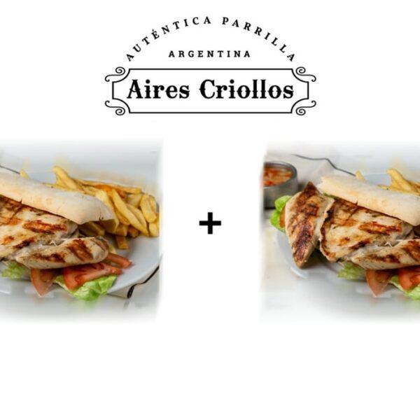 Promo 2 Sándwich de pollo